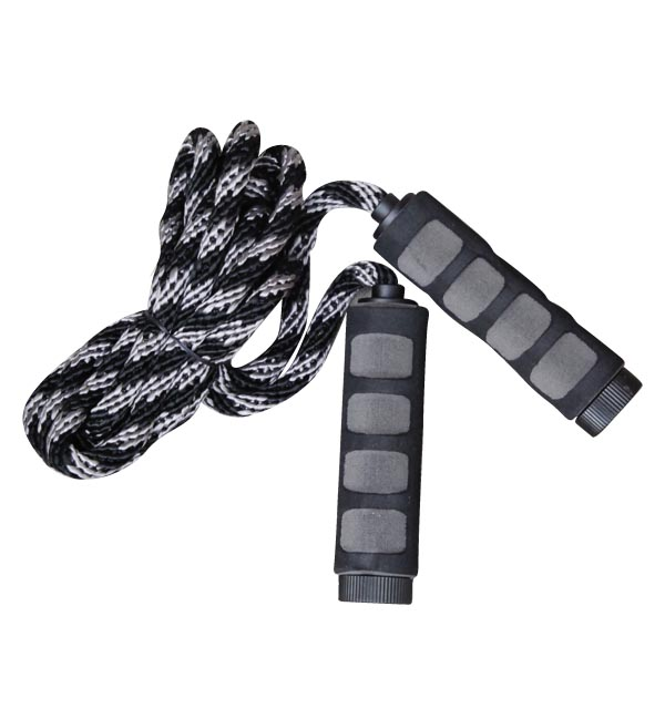 SKIPPING ROPE WITH FOAM HANDLE