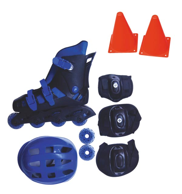 JUNIOR INLINE SKATE FULL SET