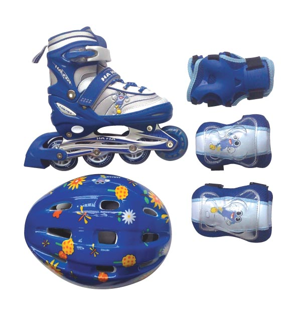 JUNIOR ADJUSTABLE INLINE SKATE SETS